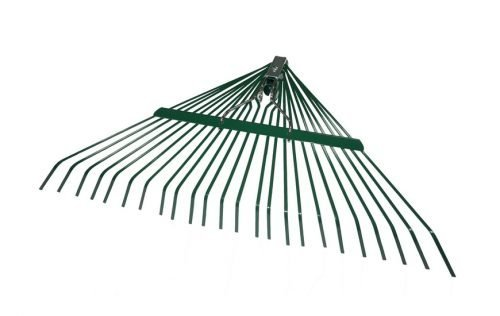 24'X24T SPRING LAWN RAKE WITH POWDER COATING